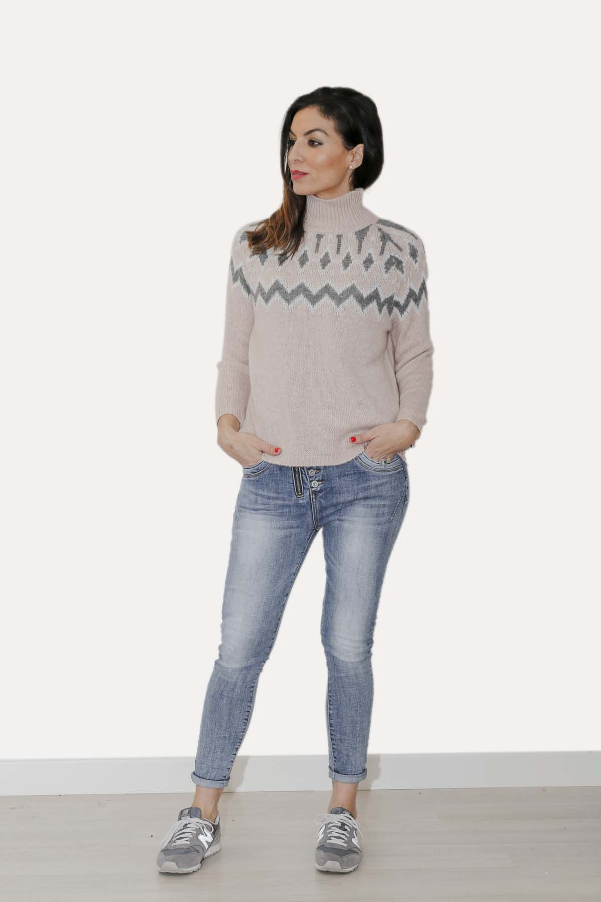Conjunto scandi jeans