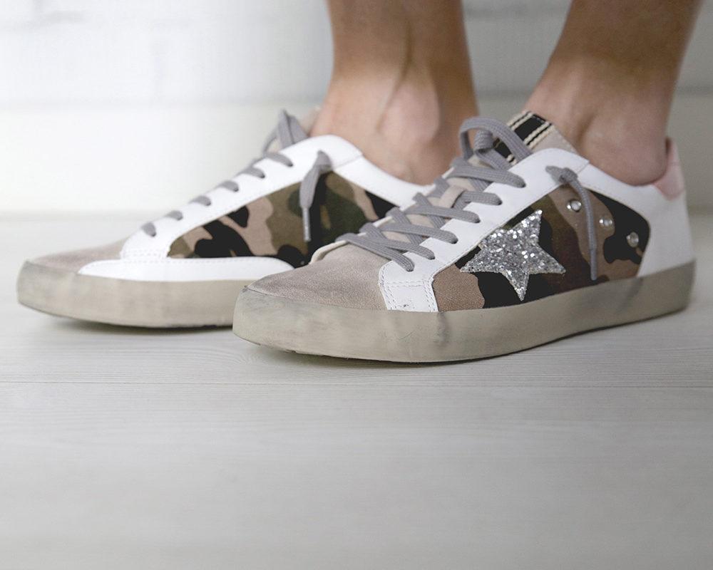 Sneakers modelo camuflaje