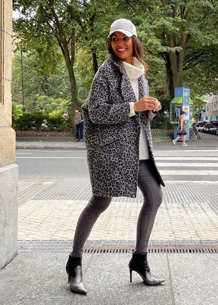 """Look """"Grey Leopard"""""""
