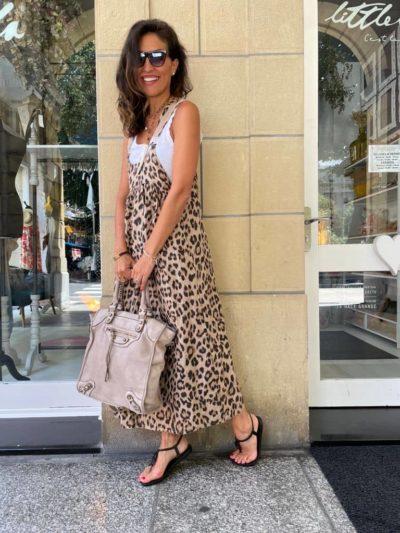 """Look """"vestido leopardo"""""""